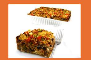 enchilada casserole, low-calorie enchilada, weight watchers, weight watchers points,
