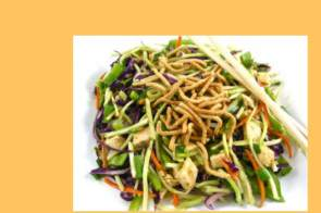 asian chicken broccoli slaw, cole slaw recipe, weight watchers, weight watchers points, asian chicken salad recipe
