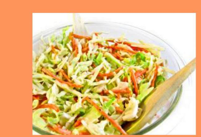 Easy and Skinny Crunchy Cole Slaw