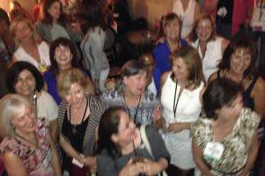 Just some of the Women of Midlife at BlogHer14