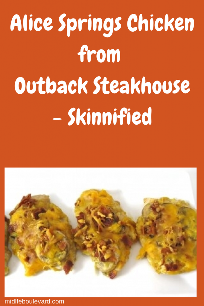 Alice Springs Chicken from Outback Steakhouse, Skinnified! - Midlife ...