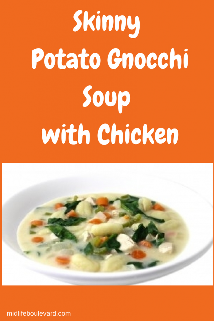 Skinny Potato Gnocchi Soup With Chicken Midlife Boulevard