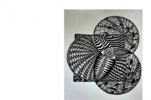 zentangle®-drawing