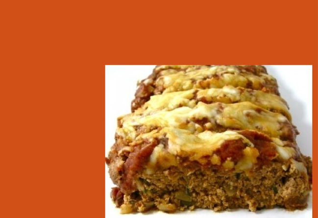 Pizza Meatloaf Made Skinny