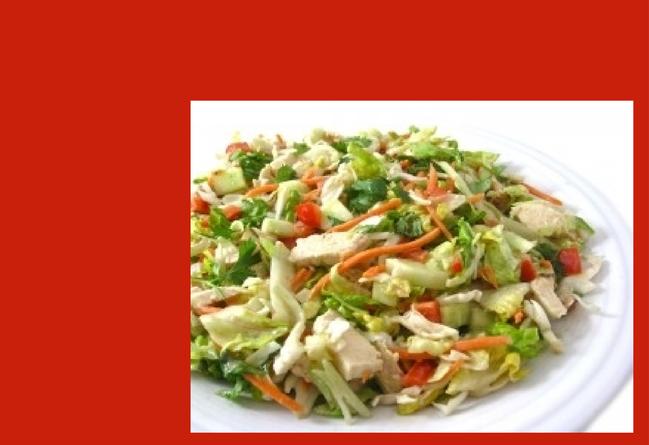 Skinny Vietnamese Chicken Salad
