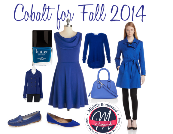 Midlife Style: Cobalt for Fall 2014