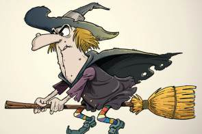 halloween-witch-on-broom