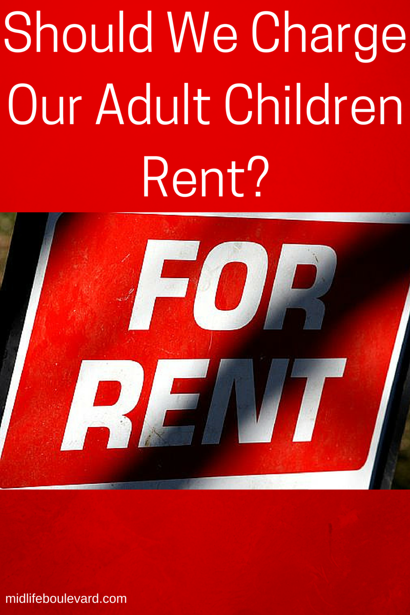 should charge adult children rent