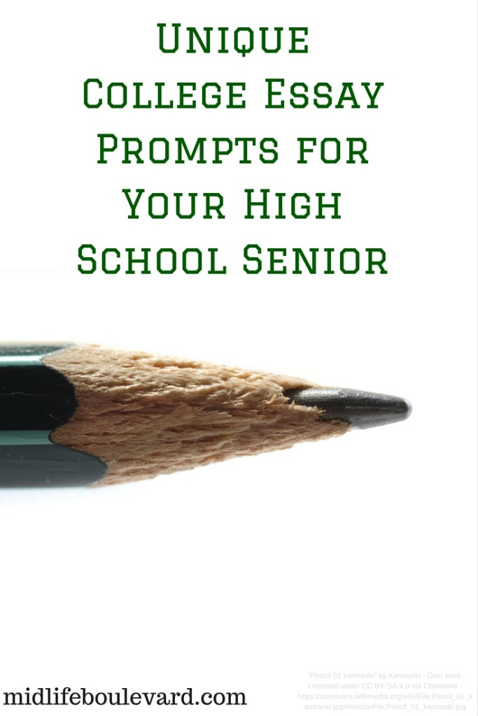 senior essay prompts Seven end-of-the-year writing prompts for high school seniors  senior will - i remember my old high school year yearbook printing up senior wills on the last.