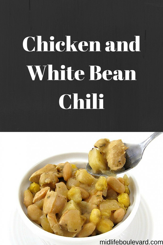 Chicken and White Bean Chili - Midlife Boulevard