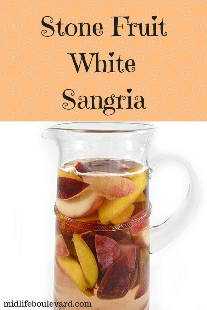 Deliciously Light Stone Fruit White Sangria Recipe