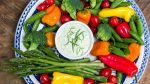 How to Make a Beautiful Veggie Tray with Green Goddess Dressing