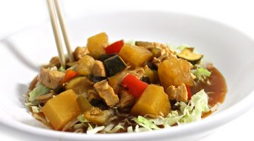 Easy Stove Top Kung Pao Chicken