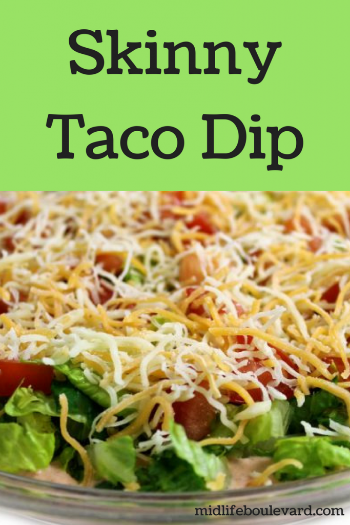 Deliciously Skinny Taco Dip Recipe for National Taco Day