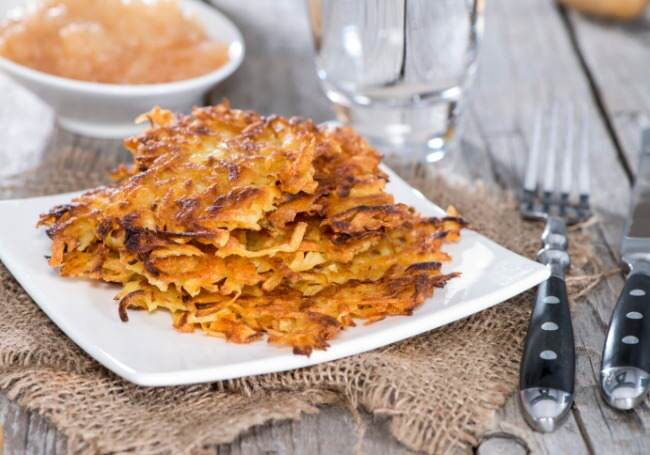 3 Different Ways To Prepare Potato Latkes