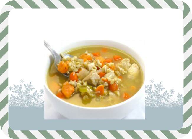 chicken barley soup recipe, weight watchers, weight watchers points, winter soup, hearty soup, featured