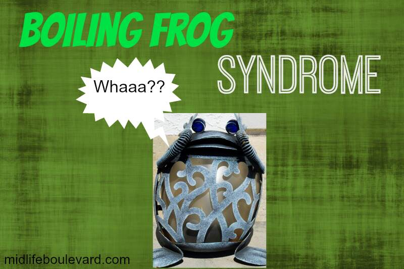 prioritize, anxiety, panic, overworked, stress, scheduling, boiling frog syndrome, midlife, midlife women, featured