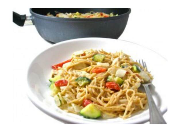 chicken tetrazzini, skinny chicken tetrazzini, weight watchers, weight watchers points, healthy eating, easy recipe, skinny kitchen, chicken, midlife, midlife women, featured