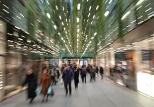 mall, christmas, shopping, kiosk, midlife, midlife women