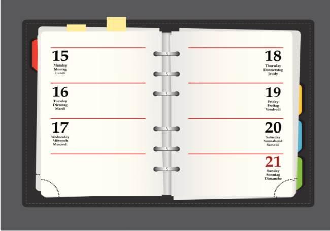 daily planner, calendar, midlife, midlife women