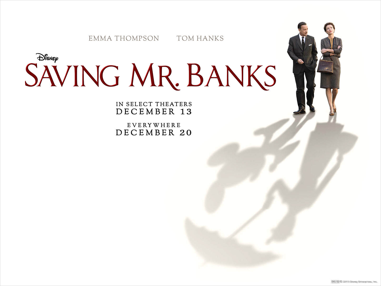 saving mr banks, mary poppins, saving mr banks review, tom hanks, emma thompson, holiday movies, midlife, midlife women, featured