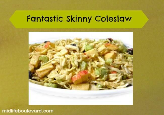 Fabulous Fall Skinny Coleslaw Recipe