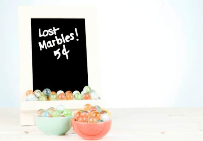 menopause, memory loss, menopause brain, losing your marbles, marbles, midlife, midlife women