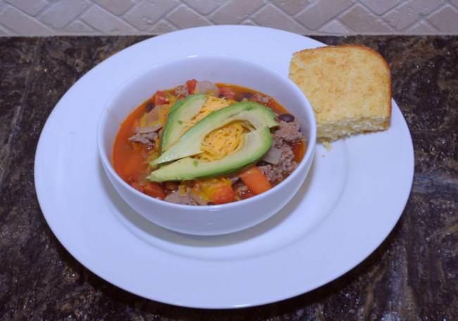 chili, chili recipe, how to make chili, recipe for a crowd, superbowl recipes, turkey chili