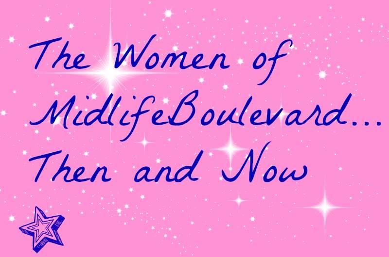 midlife women, baby photos