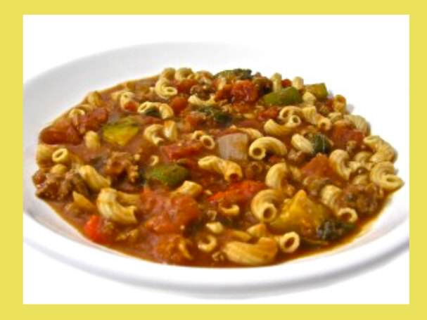 Skinny Tomato Beef Macaroni Stew – for Your Crock Pot