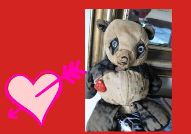 lifelong love, teddy bear, husband, wife, true love, loving couple, midlife, seniors,