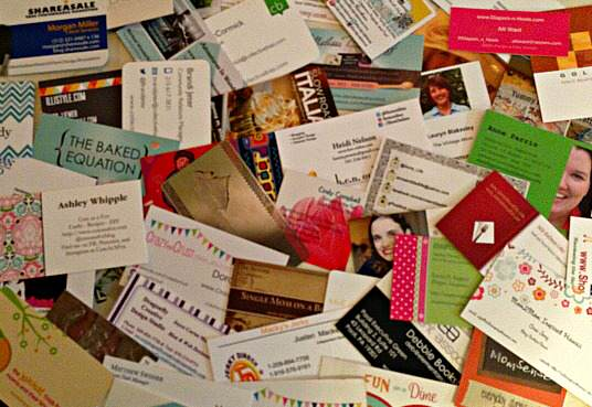 Time to Stock up on Blog Business Cards