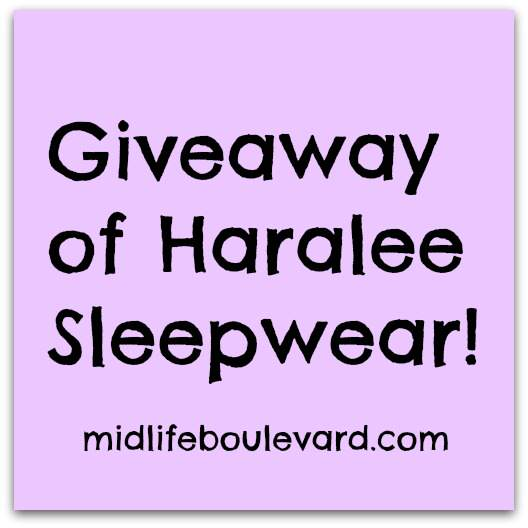 Win a $60 Gift Certificate from Haralee.com – Cool Garments for Hot Women!