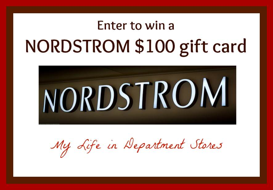 nordstrom giveaway, department stores, $100 gift card, enter to win