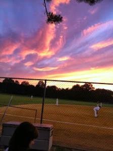 baseball-at-dusk