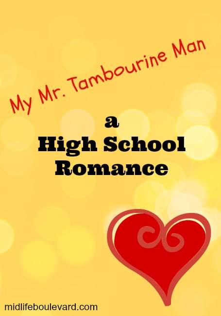 mr. tambourine man, teenage romance, crushes, romantic weekend, tetherball, kissing on a bus, memories, midlife, midlife women, kissing