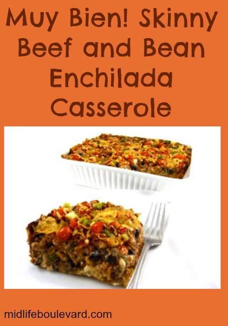 enchilada casserole, low-calorie enchilada, weight watchers, weight watchers points,