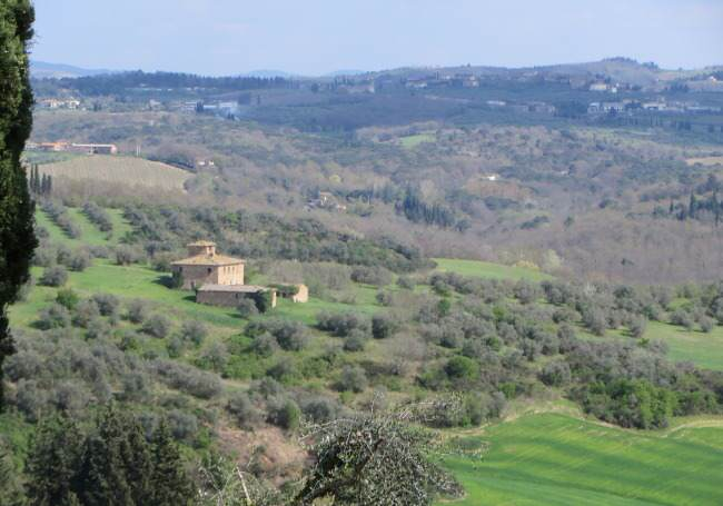 Sharon Goes to Italy, Part 2: Vacation in Tuscany and Hill Towns