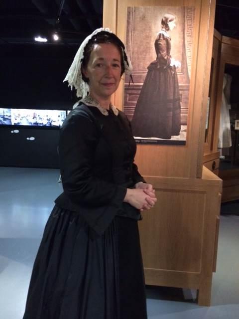 Jane Cartwright portrays Florence Nightingale Museum in London.