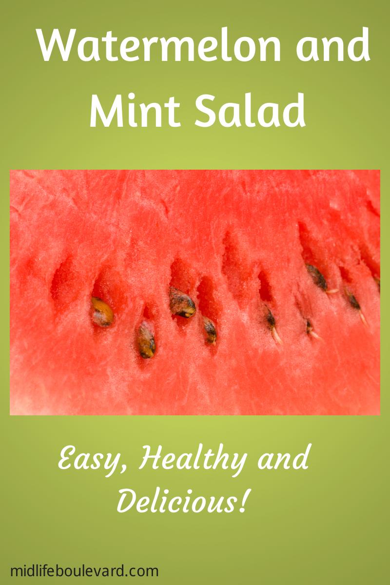 easy-summer-salad-recipe=watermelon-mint