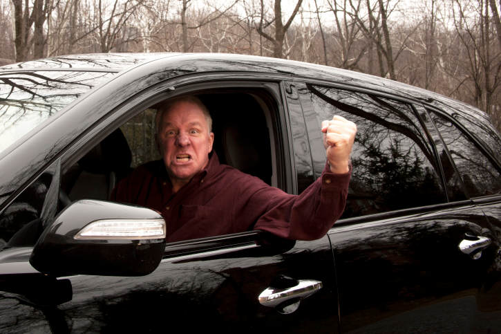 the problem of road rage Obscene gestures, aggressive moves: an all-too-common sight on our roads that police say can, in the most extreme cases, cause injury or worse.