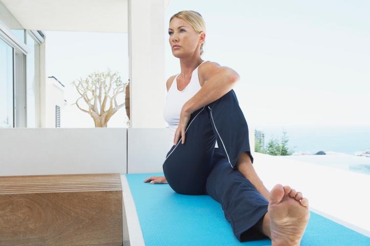 Yoga Can Ease Perimenopause Symptoms