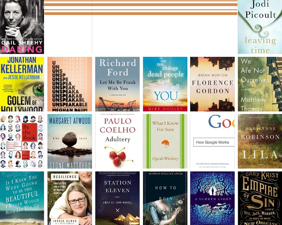20 Books for Fall
