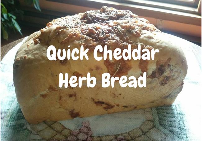 Quick-cheddar-herb-bread