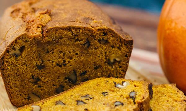 Autumn Recipe: Spiced Pumpkin Bread