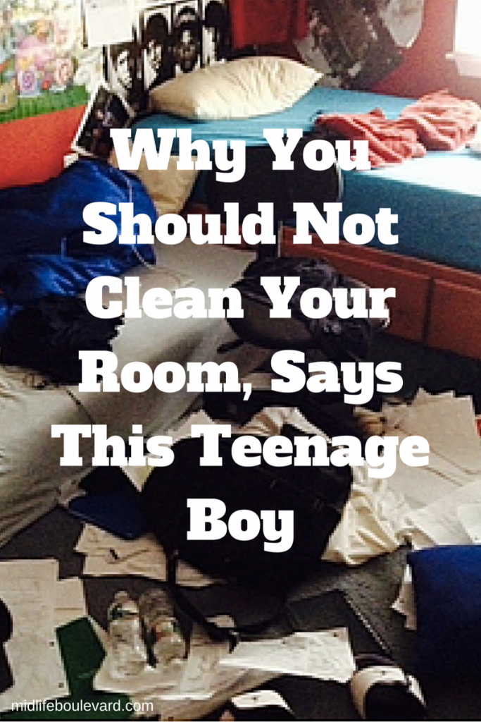 Why You Should Not Clean Your Room, Say Some Teenagers