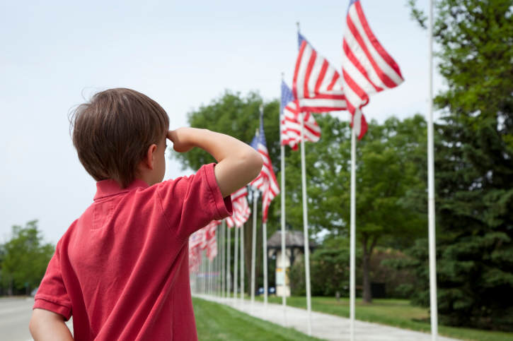 When Veteran's Day is a Family Affair