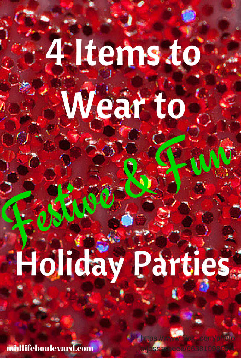 holiday fashion, black jeans, sparkly top, dressing for holiday parties
