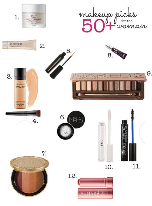 12 Makeup Products for Mature Skin: 50+ Women