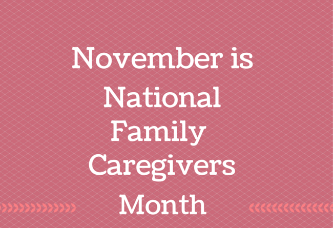 Image result for november national family caregiver month